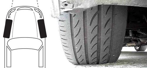 Lốp mòn không đều – mối nguy tiềm ẩn cho tài xế